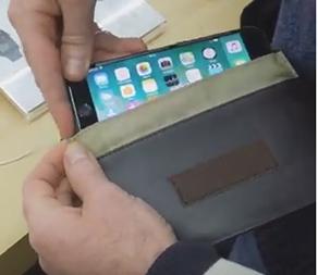 Экранированный кожаный чехол на смартфон Iphone 8 Plus. Знайте!  При отключении вами смартфона не значит что он не работает! Он следит за вами! - новости ДЕКО Медиа